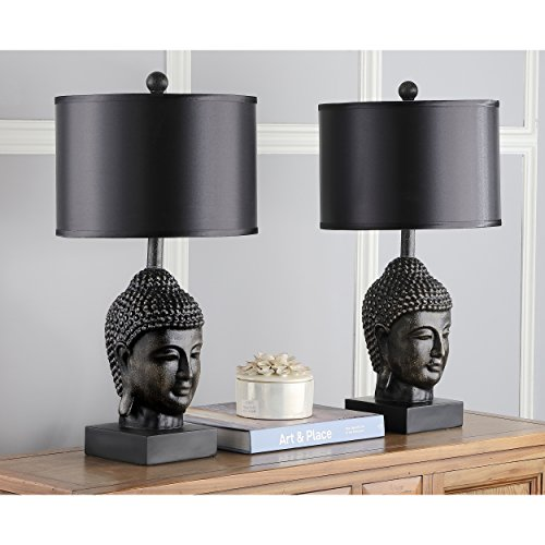 Safavieh Lighting Collection Golden Buddha 24.5-inch Table Lamp (Set of ()