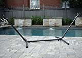 Eclipse Collection Vivere's Universal Hammock Stand - Charcoal (9ft)
