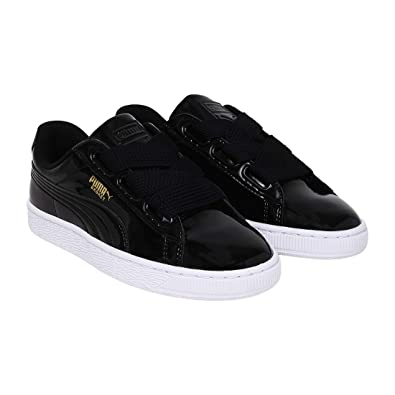 super popular e51bd dbf75 Puma Women's Basket Heart Patent Sneakers