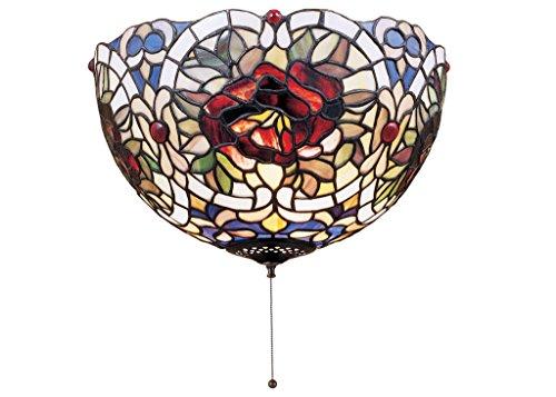 (12 Inch W Renaissance Rose Flushmount , Ceiling Fixture , Meyda)