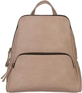 Amazon.com: Mona B. Nude Grace Vegan Leather Upcycled