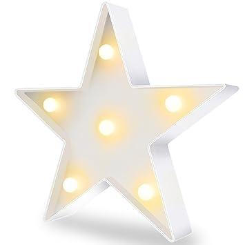 Amazon.com: Star Decor Mini Star Light Star Decorations for Party ...