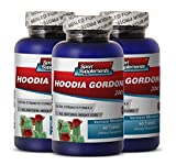 Product review for Hoodia Weight Loss Patch - Hoodia Gordonii Cactus 2000mg Diet 180 Tablets - Top Hoodia Gordonii to Suppress Your Appetite (3 Bottles)