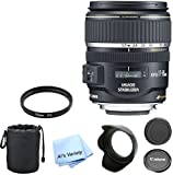 Canon EF-S 17-85mm f/4-5.6 IS USM Premium Lens Bundle- International Model