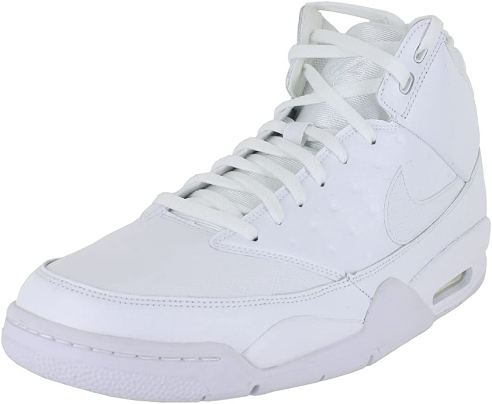 Decir a un lado cantante Fecha roja  Amazon.com | Nike AIR Flight Classic (14 D(M) US, White White) | Basketball