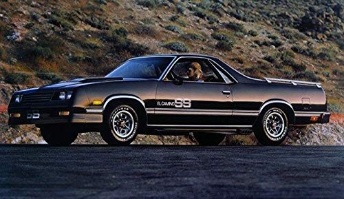 1983 1984 1985 1986 1987 El Camino SS Super Sport Decal Sticker Stripe Kit 3M