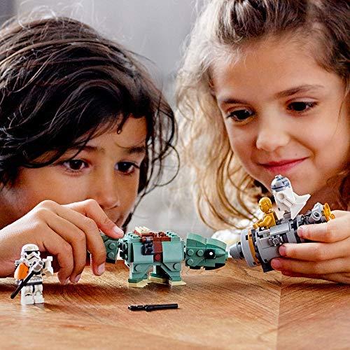 عروض LEGO Star Wars: A New Hope Escape Pod vs. Dewback Microfighters 75228 Building Kit , New 2019 (177 Pieces)