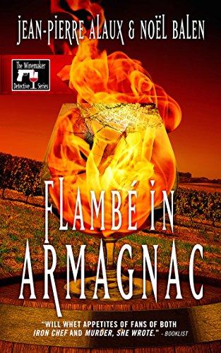 book cover of Flambe in Armagnac