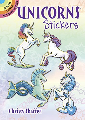 Unicorns Stickers (Dover Little Activity Books Stickers)