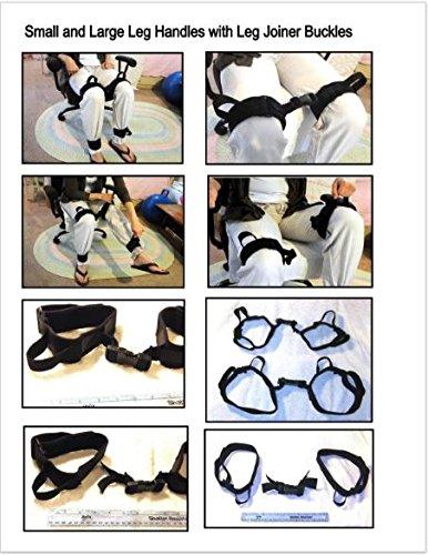 4 Single Leg Handles Loops with Joiner Buckle by Leg Handles