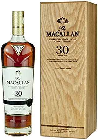 Macallan - Sherry Oak Speyside Malt Blue Label - 30 year old Whisky - 700 ml