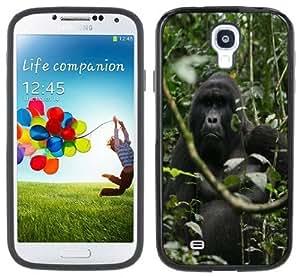 Gorilla Jungle Handmade Samsung Galaxy S4 Black Bumper Hard Plastic Case