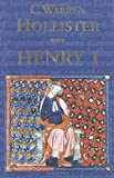 Henry I (The Yale English Monarchs Series)