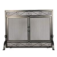Better Garden Fireplace Screen with Gate...