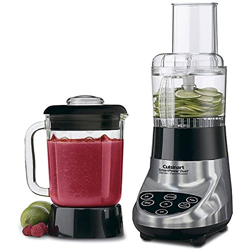 FPB-5CHBFR SmartPower Duet Glass Jar Blender And Food Processor CERTIFIED REFURBISHED by Cuisinart