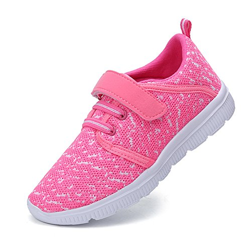Image of Abertina Kids Lightweight Breathable Running Sneakers Easy Walk Sport Casual Shoes for Boys Girls