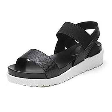635d17950b934 Summer Sandals,Boomboom 2018 Soft Women Juniors Girls Summer Shoes Peep-Toe  Roman Flat Sandals
