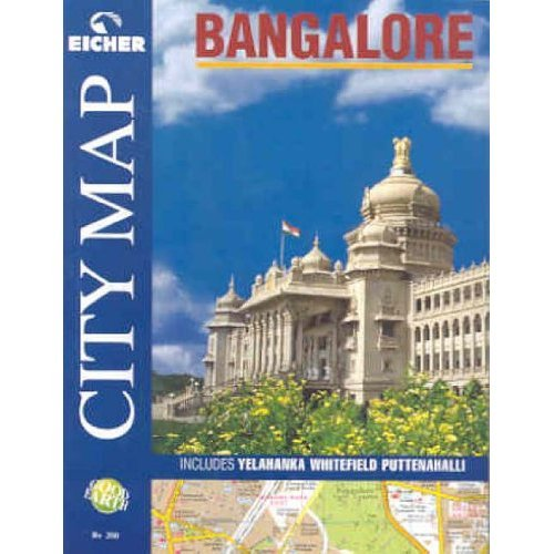 Bangalore City Map (Atlas)
