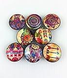 Set of 8 Boho Gypsy Cabinet Knobs