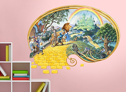 Artistic Wizard of Oz Wall Decal