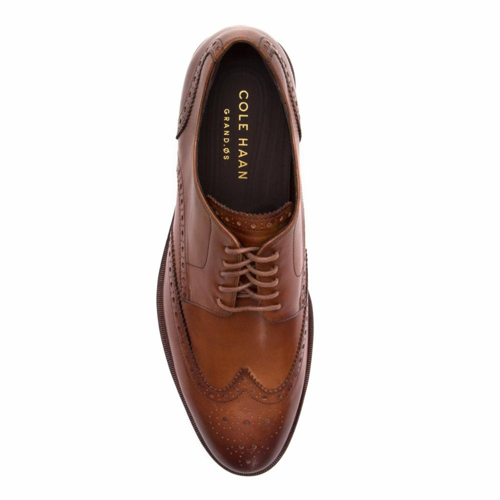 Cole Haan Mens Harrison Grand Short Wingtip Oxford 14 British Tan by Cole Haan (Image #4)