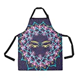 Unique Debora Custom Kitchen Apron with Pockets Fully Adjustable and Protective for Meditation