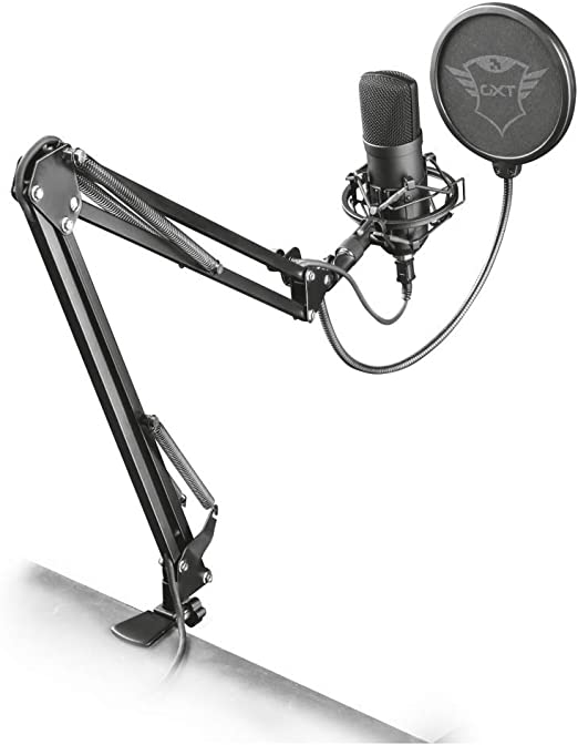 Trust Gaming Gxt 252 Emita Plus Studio Usb Mikrofon Computer Zubehör