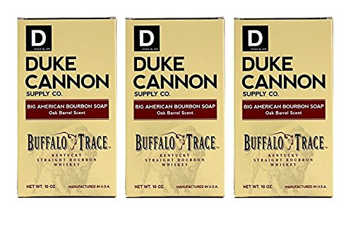 Duke Cannon Tavern Collection - Special Edition Men's Soap (Bourbon, 3 Pack)