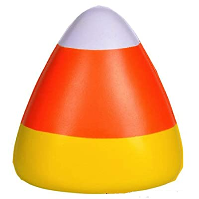 Rhode Island Novelty 2.5 Inch Mini Candy Corn Stress Toys, Two Dozen: Toys & Games