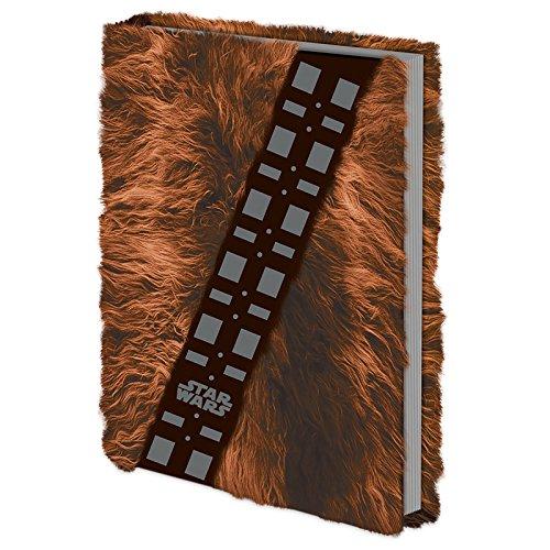 Star Wars - Chewbacca Fell - Fur Offizielles Lizenz-Notizbuch im handlichen A5 Format - Größe 15x21 cm