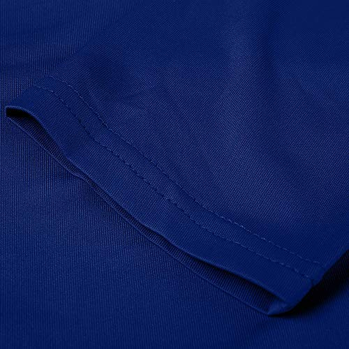 Femme Chemise Uni Col Body Bleu Chemisier Rond KaloryWee 1q8UHH