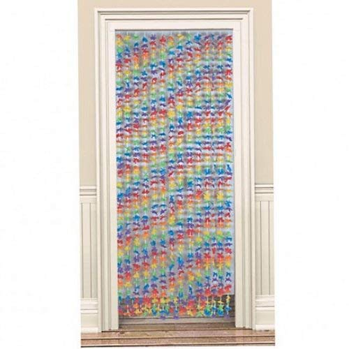Amscan Flower Party Door Curtain, 78