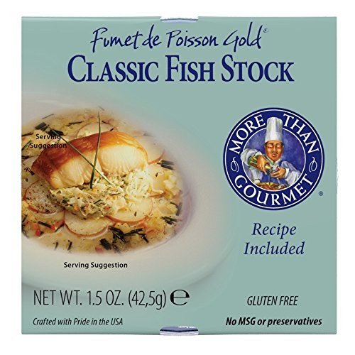 Stock Package - More Than Gourmet Fumet De Poisson Gold Fish Fumet, Classic Fish Stock, 1.5 Ounce Package
