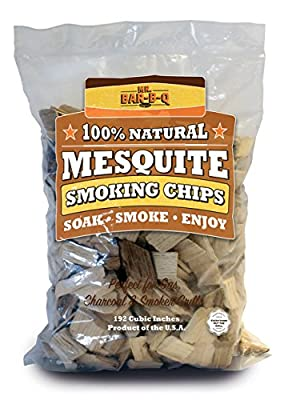 Mr Bar B Q 05011 Hickory & Mesquite Wood Smoking Chips, Value Pack……