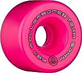 Rollerbones Logo Wheels 98a (Pink, 57MM)