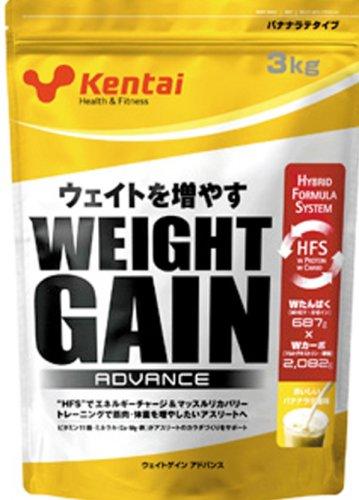 健康体力研究所 ウェイトゲインアドバンス バナナラテ風味 3kg K3301 B000VUHD68
