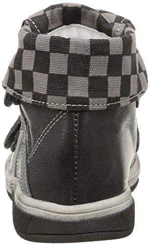 babybotte Acteur1, Jungen Hohe Sneakers Grau (400 Gris/noir)