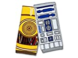 ThinkGeek Star Wars R2-D2 & C-3PO Hand Towel Set
