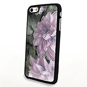 Generic Phone Accessories Matte Hard Plastic Phone Cases Flower Pink fit for Iphone 6