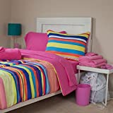 Lavish Home 21-Piece Sierra Kids Bedroom and Bathroom Comforter Towels Set, Full