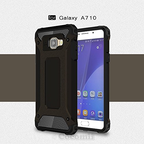 Slim Shockproof Case for Samsung Galaxy A7 (Black) - 9