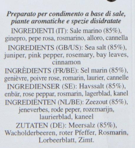 Il Boschetto Grigliata Herb Sea Salt Grinder
