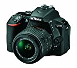 Nikon D5500 DX-format Digital SLR w/ 18-55mm VR II Kit (Black)