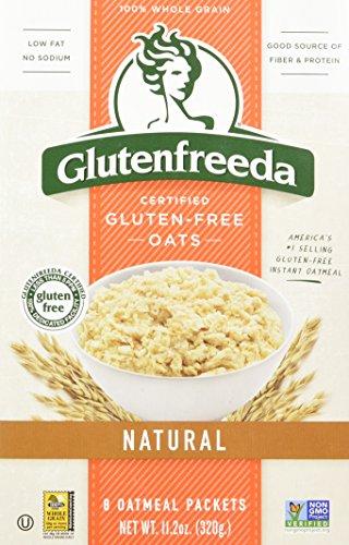 Glutenfreeda Certified Gluten-Free Oats Natural Oatmeal Packets - 8 CT (Net Wt. 11.2 oz) by Glutenfreeda