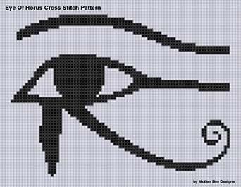 Amazon.com: Eye of Horus Cross Stitch Pattern eBook: Mother Bee