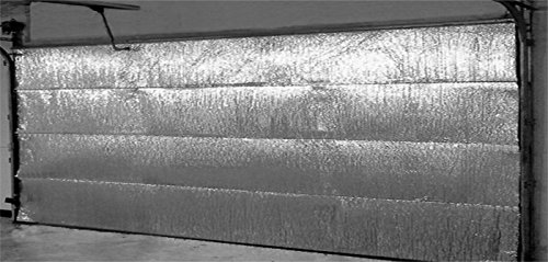 Garage Door Insulation Kit by RadiantGUARD - Reflective Double Bubble Insulation Fits Door 8 Feet Tall by 18 Feet Wide (GDK)