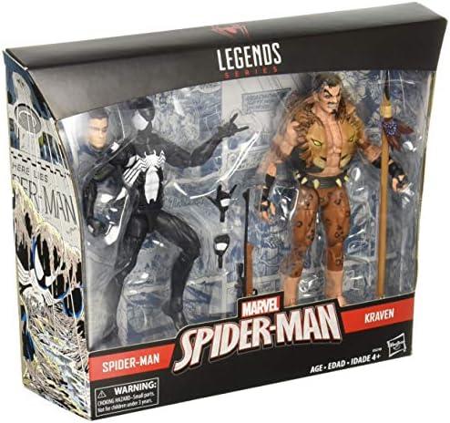 Marvel Hasbro Legends Spider-Man & Kraven Action Figure 2 Pack ...