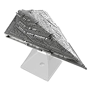 Star Wars Li-B33.FMv7 Bluetooth Speaker - The Force Awakens First Order Star Destroyer Villain Flagship Lights Up When In Use