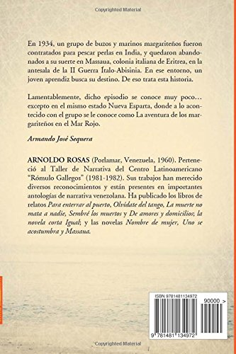 Massaua (Spanish Edition): Arnoldo Rosas: 9781481134972: Amazon.com: Books