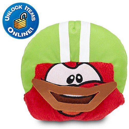 Club Penguin Red Puffle - Club Penguin Red Pet Puffle Plush with Touchdown Dome - 4''